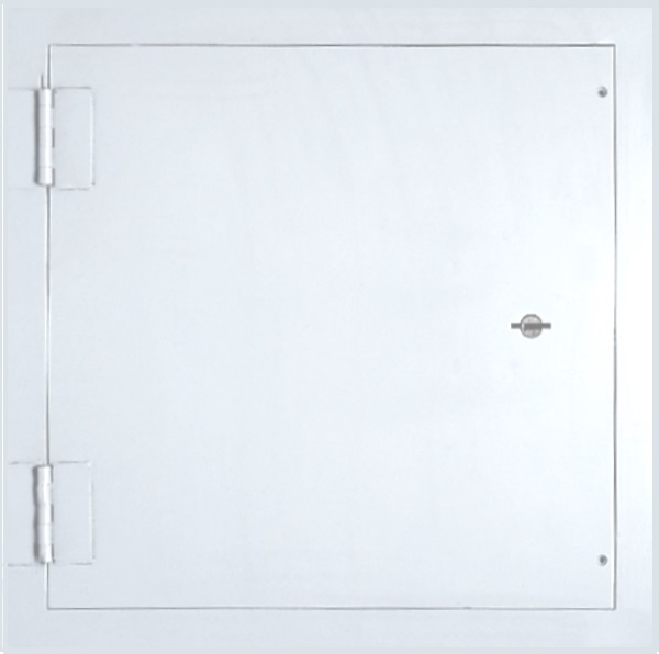 SP SERIES - FLAT FRAME 10 GAUGE STEEL SECURITY ACCESS PANEL