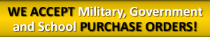 TheAccessPanelStore Accepts Military, Government and School Purchase Orders